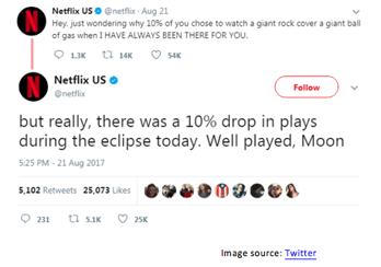 Netflix Solar Eclipse
