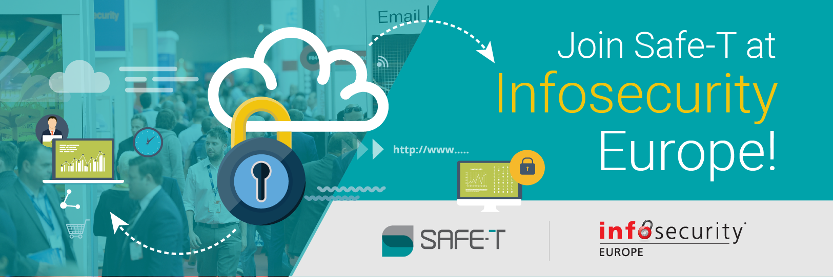 Join Safe-T at Infosecurity Europe