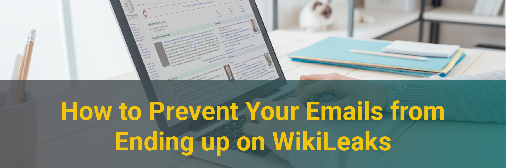 How to Prevent Your Emails from Ending up on WikiLeaks